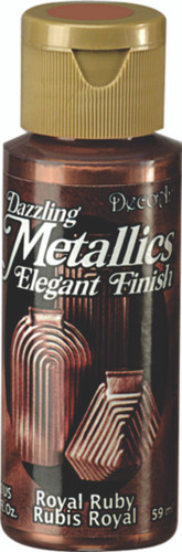 Royal Ruby - Dazzling Metallic Acrylic Paint (2oz)