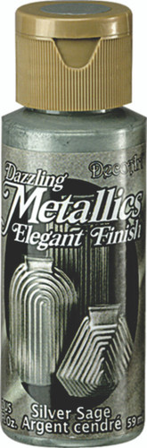 Silver Sage - Dazzling Metallic Acrylic Paint (2oz)
