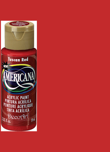 Tuscan Red - Acrylic Paint (2oz.)