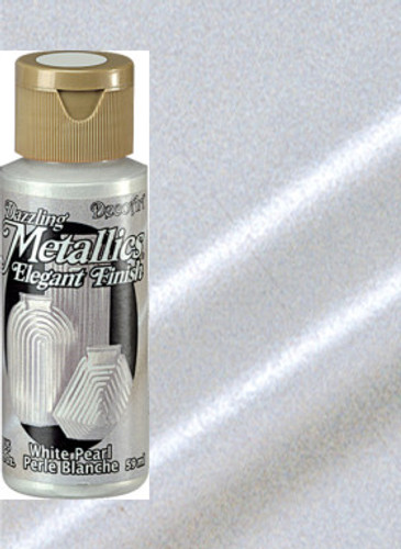 White Pearl - Dazzling Metallic Acrylic Paint (2oz)