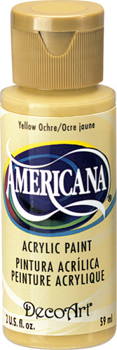 Yellow Ochre - Acrylic Paint (2oz.)