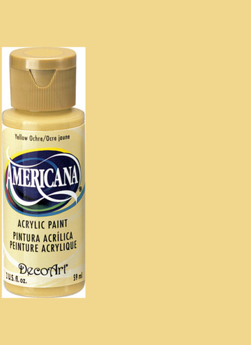 Yellow Ochre - Acrylic Paint (2oz.)