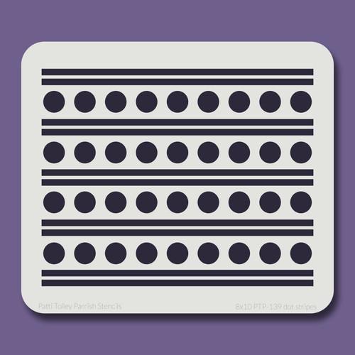 8x10 PTP-139 dot stripes