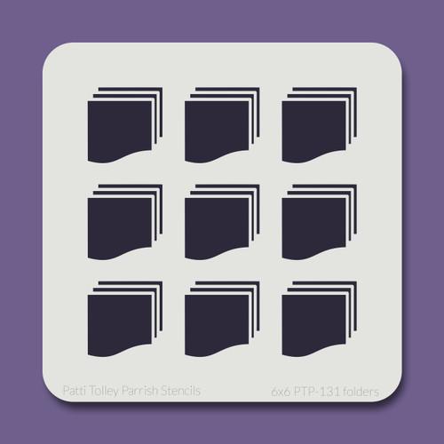 6x6 PTP-131 folders