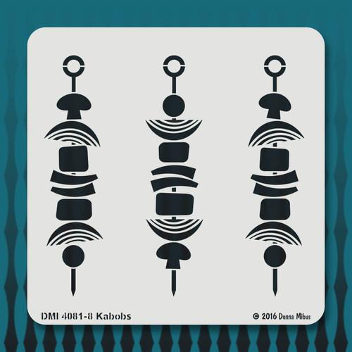 4081 Kabobs stencil