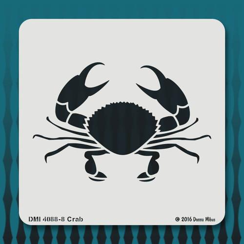 4088 Crab stencil