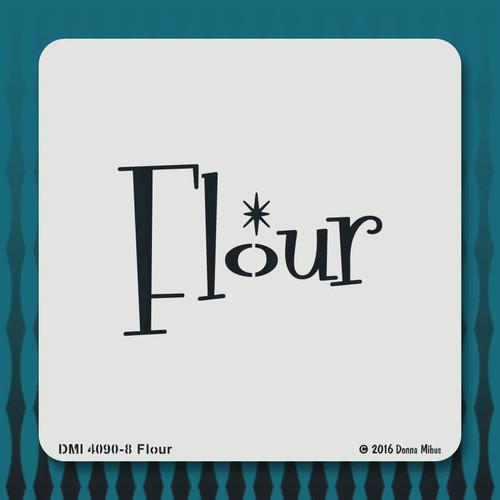 4090 Flour  stencil