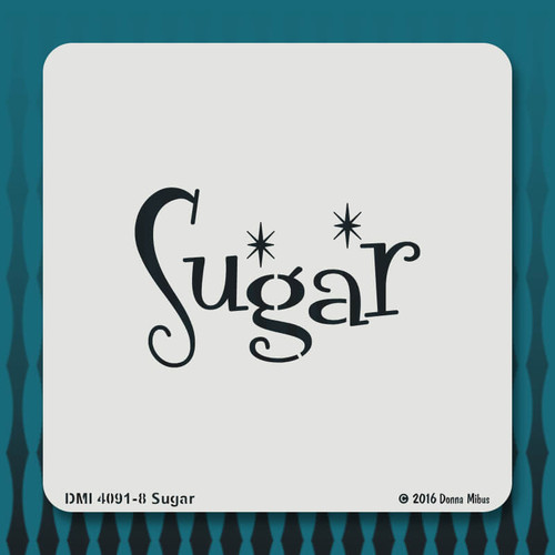 4091 Sugar stencil