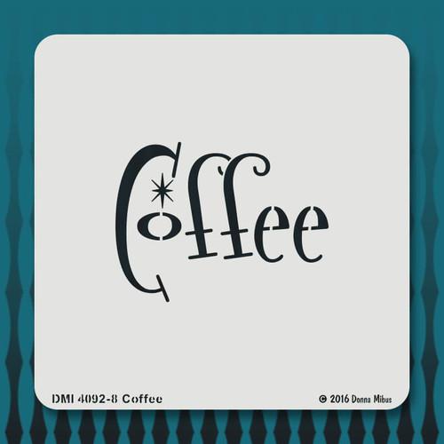 4092 Coffee stencil
