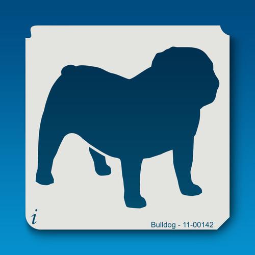 11-00142 bulldog stencil