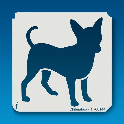 11-00144 chihuahua dog stencil