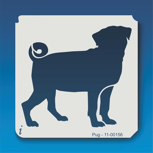 11-00156 pug stencil