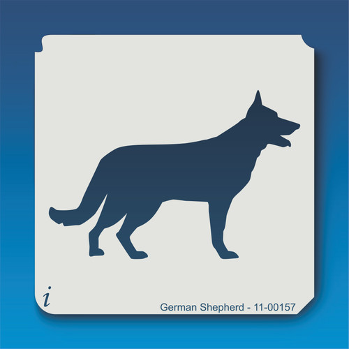 11-00157 german shepherd stencil