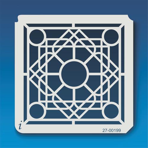 27-00199 Geometric Mandala 1 Stencil