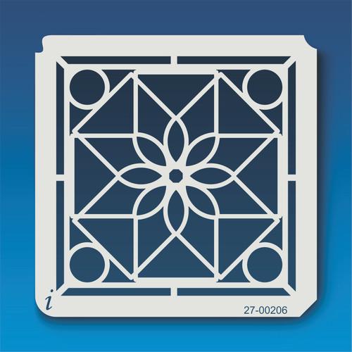 27-00206 Geometric Mandala 7 Stencil