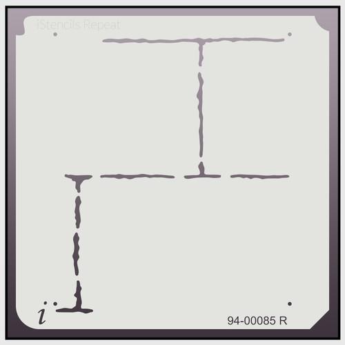 94-00085 R Brick Repeat Stencil