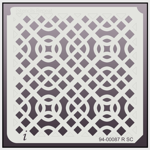 94-00087 R SC Celtic Knot Repeat Stencil