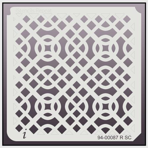 94-00087 R SC Celtic Knot Repeat Stencil