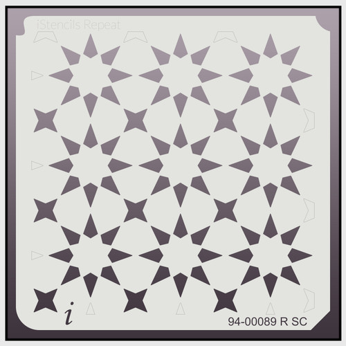 94-00089 R SC Seeing Stars Repeat Stencil
