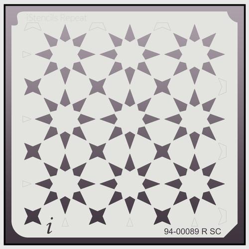 94-00089 R SC Seeing Stars Repeat Stencil