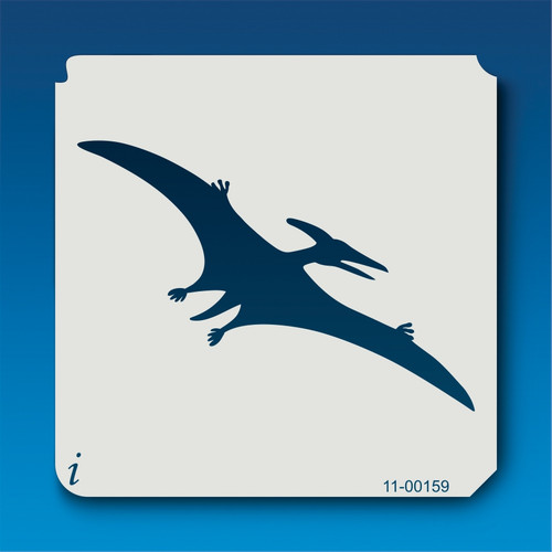 11-00159 Pterodactyl Silhouette Stencil