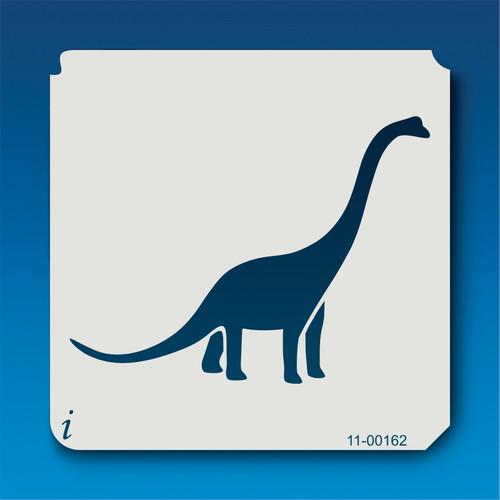 11-00162 Brachiosaurus Silhouette Stencil