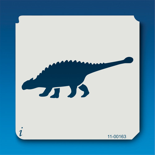 11-00163 Ankylosaurus SIlhouette Stencil