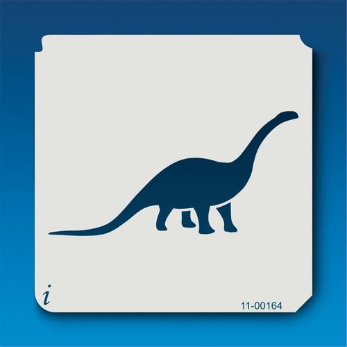 11-00164 Cetiosaurus Silhouette Stencil