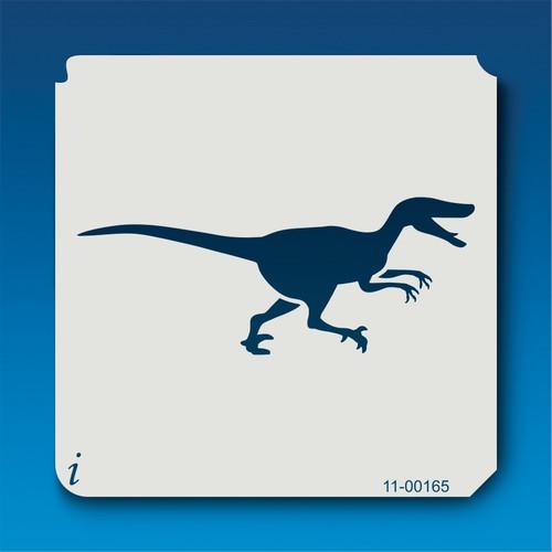 11-00165 Velociraptor Silhouette Stencil