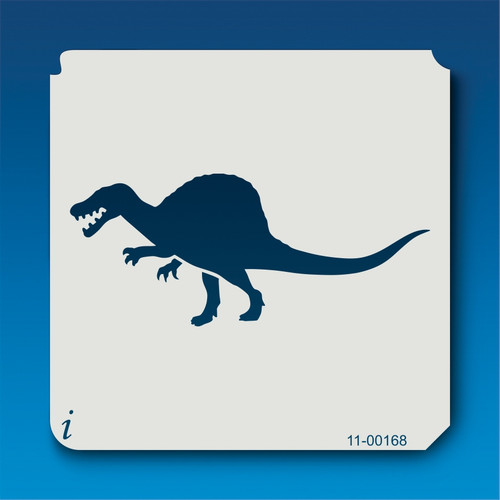 11-00168 Spinosaurus Silhouette Stencil