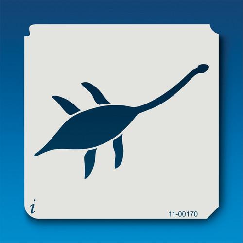 11-00170 Plesiosaur Silhouette Stencil