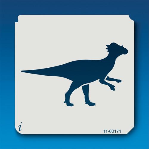 11-00171 Pachycephalosaurus Silhouette Stencil