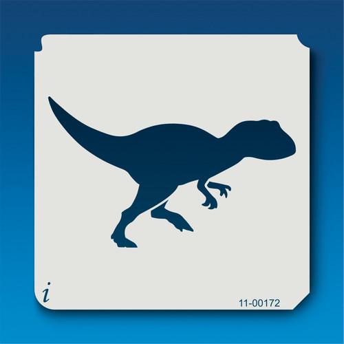 11-00172 Allosaurus Silhouette Stencil