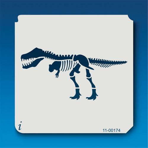 11-00174 Tyrannosaurus Rex Fossil Stencil