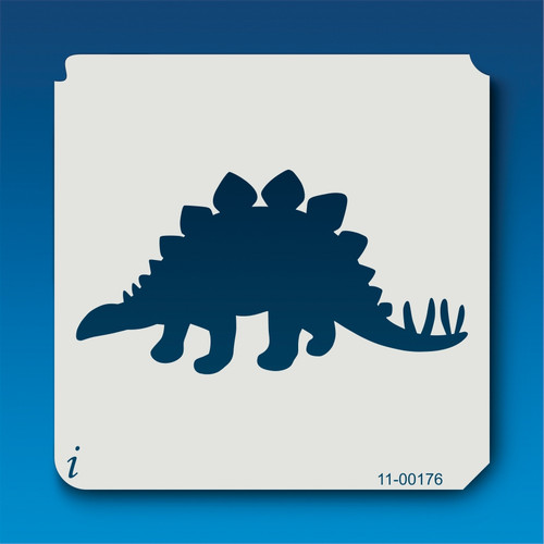 11-00176 Stegosaurus Silhouette Stencil
