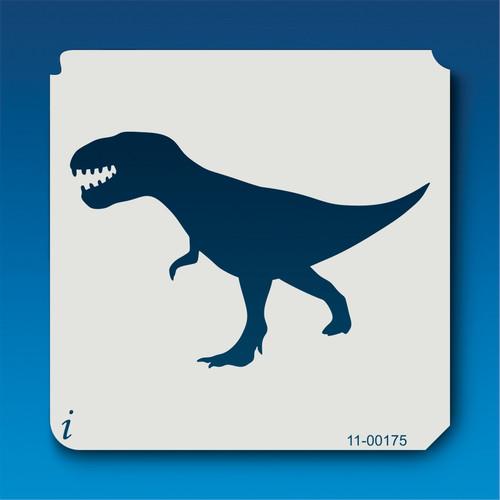 11-00175 Tyrannosaurus Rex Silhouette Stencil