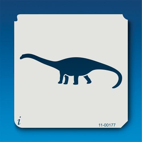 11-00177 Barapasaurus Silhouette Stencil