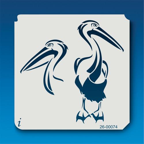 26-00074 Pelican Stencil