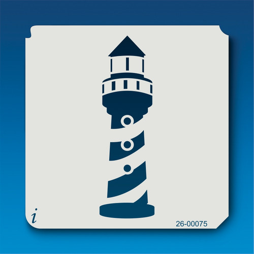 26-00075 Lighthouse Stencil