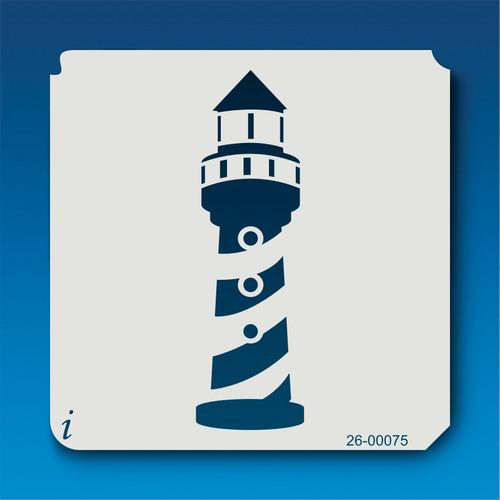 26-00075 Lighthouse Stencil