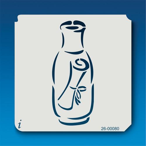 26-00080 Message in a Bottle Stencil