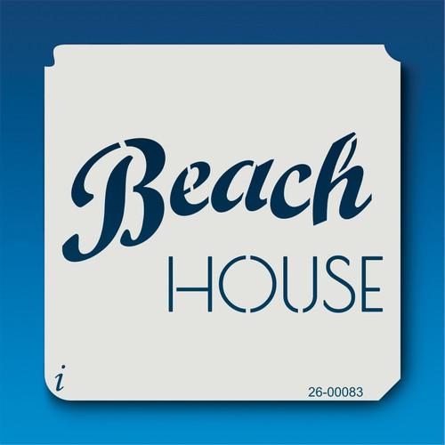 26-00083 Beach House Stencil