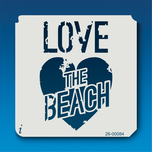 26-00084 Love the Beach Stencil