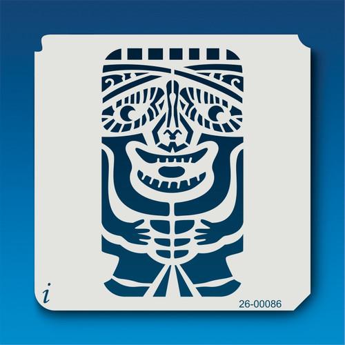 26-00086 TIki Totem Stencil