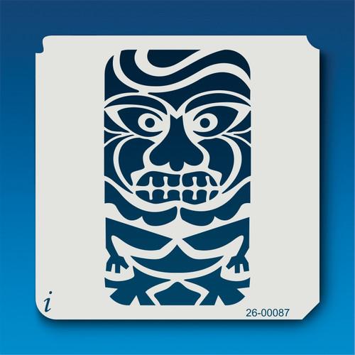 26-00087 TIki Man Stencil