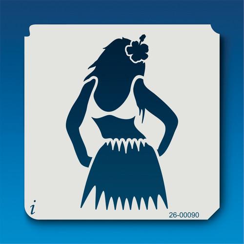 26-00090 Hula Girl Stencil