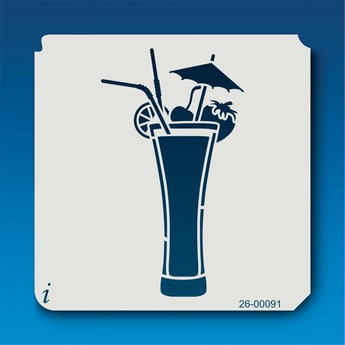 26-00091 Tropical Drink Stencil