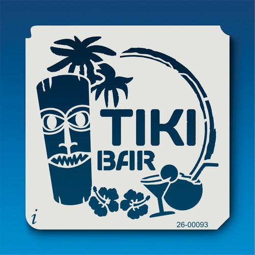 26-00093 Tiki Bar Stencil