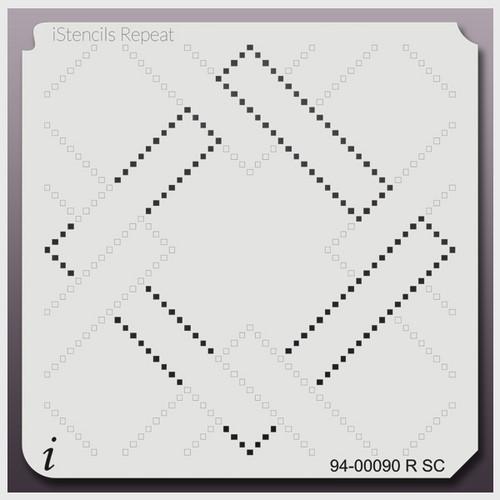 94-00090 RSC Cuckoo Squares Stencil