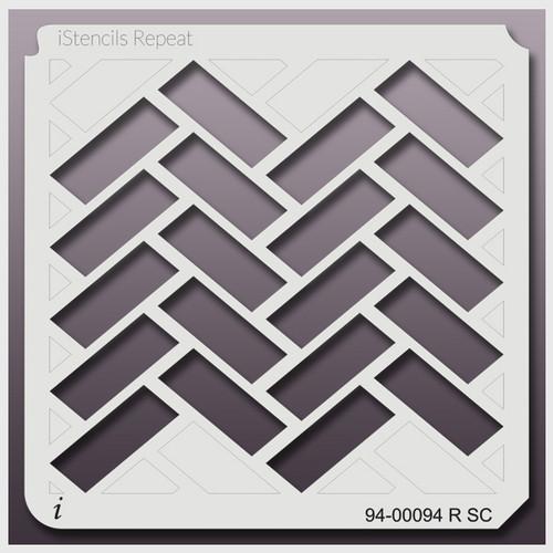 94-00094 R brick pattern stencil